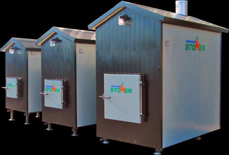 Outdoor Wood Furnace Ontario Biomass Energy Northern